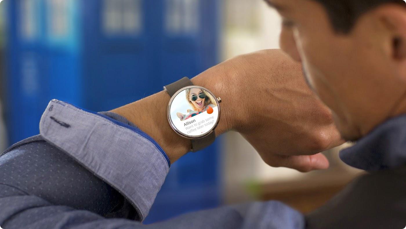 La aplicación Tinder en los smartwatches