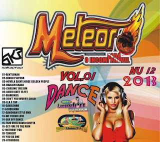 Cd Meteoro Dance Vol 01 (Dj.s Mauro e Mauricio Do Studio 2 Irmãos e Fabricio Incomparavel)