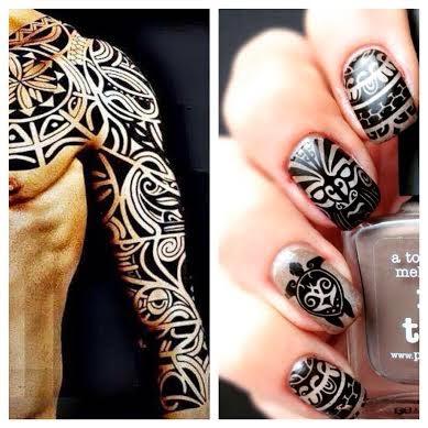 Tatouage Polynesien Manchette - Tatouage The Rock tatoo Samoa manchette tatouage