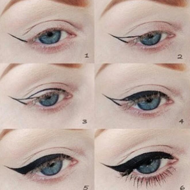 Come mettere l'eyeliner | How to apply eyeliner
