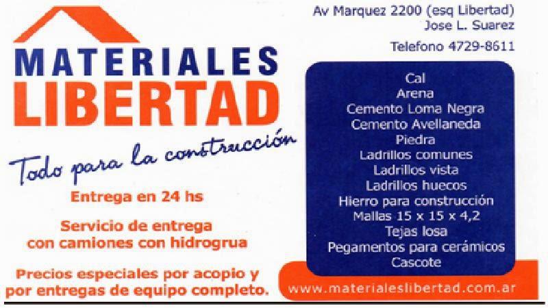 MATERIALES LIBERTAD