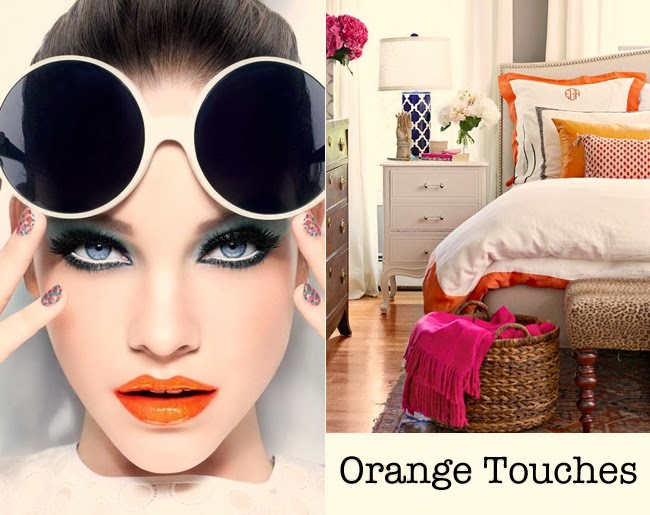 orange touches