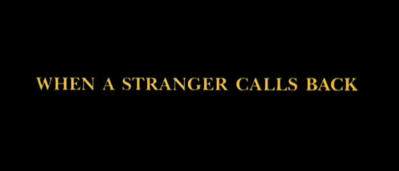 Movie Locations And More When A Stranger Calls Back 1993
