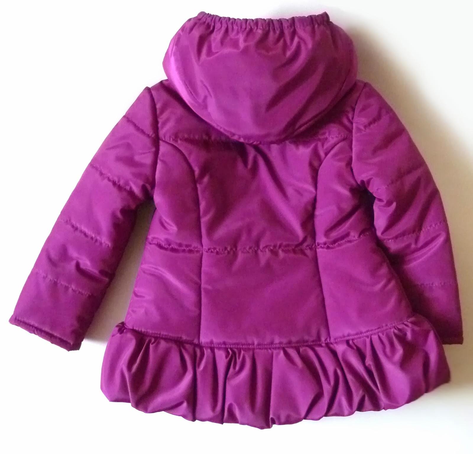 Сшить куртку для девочки фото