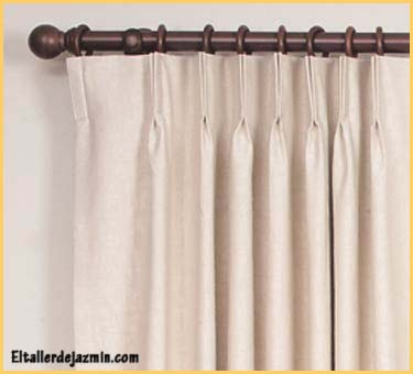 Informe las cortinas for Cortinas con argollas