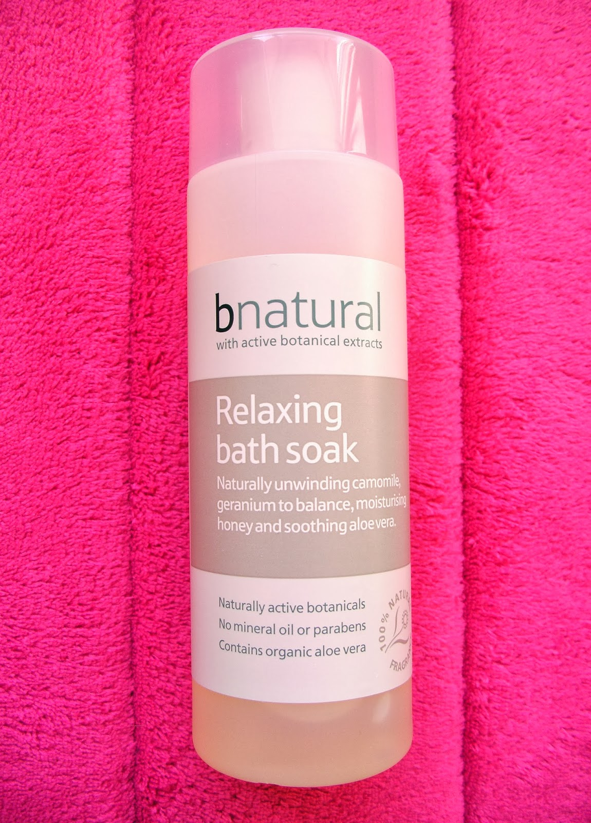 bnatural Relaxing Bath Soak