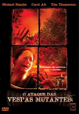 Filme Poster O Ataque Das Vespas Mutantes DVDRip XviD & RMVB Dublado