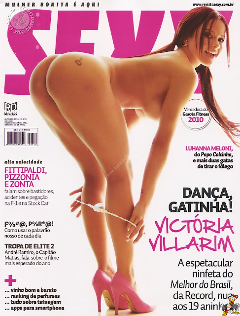 Revista Sexy - Victoria Vilarim