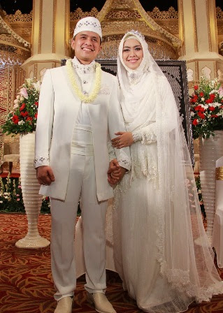 Pilihan Baju Pengantin untuk Pernikahan Muslim 2017/2018