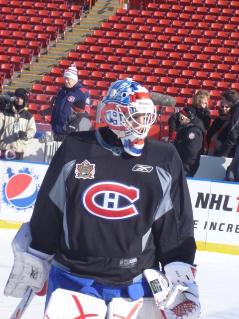 carey price new mask winter classic. likejan Carey+price+mask+winter+classic Bruins goalie guild was so impressed with At the photos of fleurys winter classic tribute In