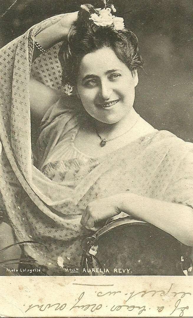 FORGOTTEN OPERA SINGERS: Aurelia Revy (Soprano) (Kaposvar 1879 ...