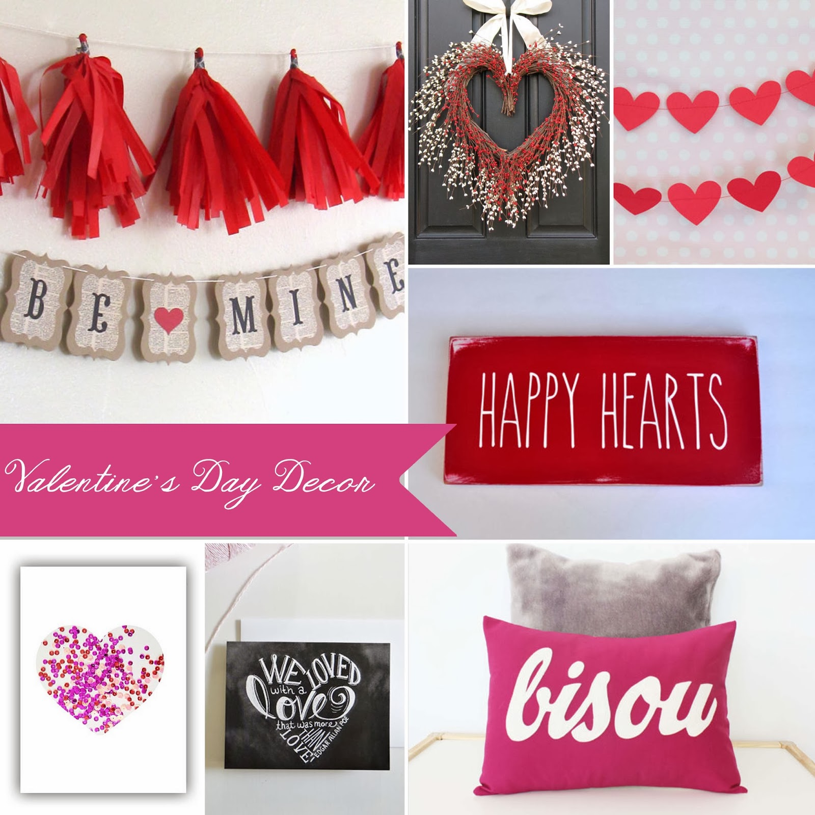 Carissa Miss: Valentine's Day Decor