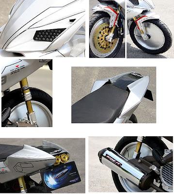 Honda Beat Modifikasi_Icon Motor kontes-Kumpulan Gambar Modifikasi