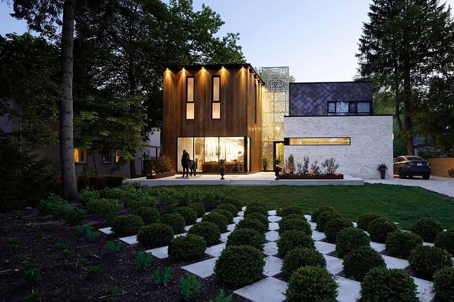 Intriguing Exterior and an Expansive Interior Shape Audacious Aldo House
