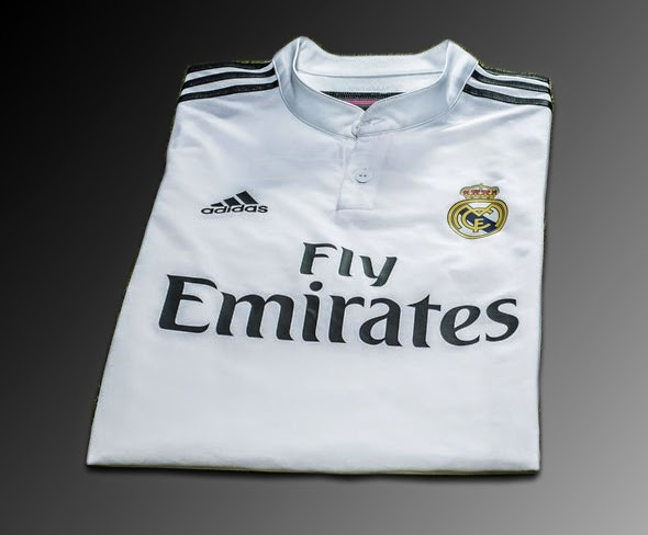 Jersey Bola Real Madrid Home 2014-2015 Jersey Grade Ori