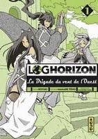 Actu Manga, Critique Manga, Kana, Koyuki, Log Horizon, Log Horizon - La Brigade du Vent de l'Ouest, Manga, Shonen,
