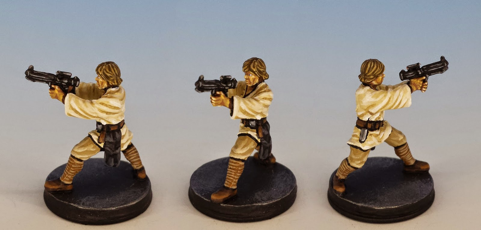 Luke Skywalker, Fantasy Flight Games (2014, sculpted by Benjamin Maillet, painted by M. Sullivan)