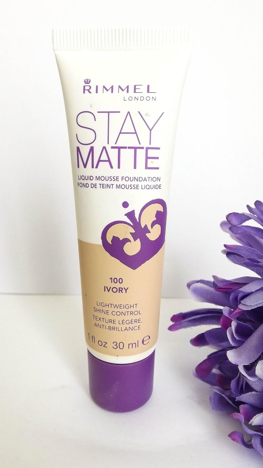 Rimmel Stay Matte Liquid Mousse Foundation Review Iris Shades