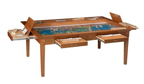 ... offerta di tavoli da gioco in legno si tratta di tavoli che nascondono