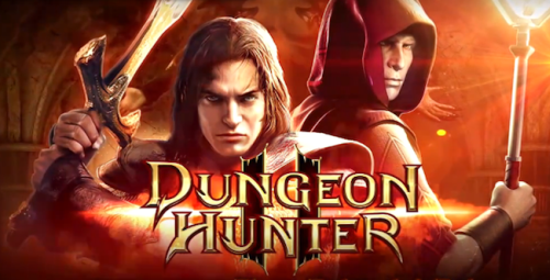 dungeon hunter nokia juegos