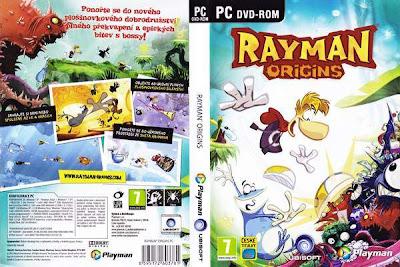 Jogo Rayman Origins PC DVD Capa