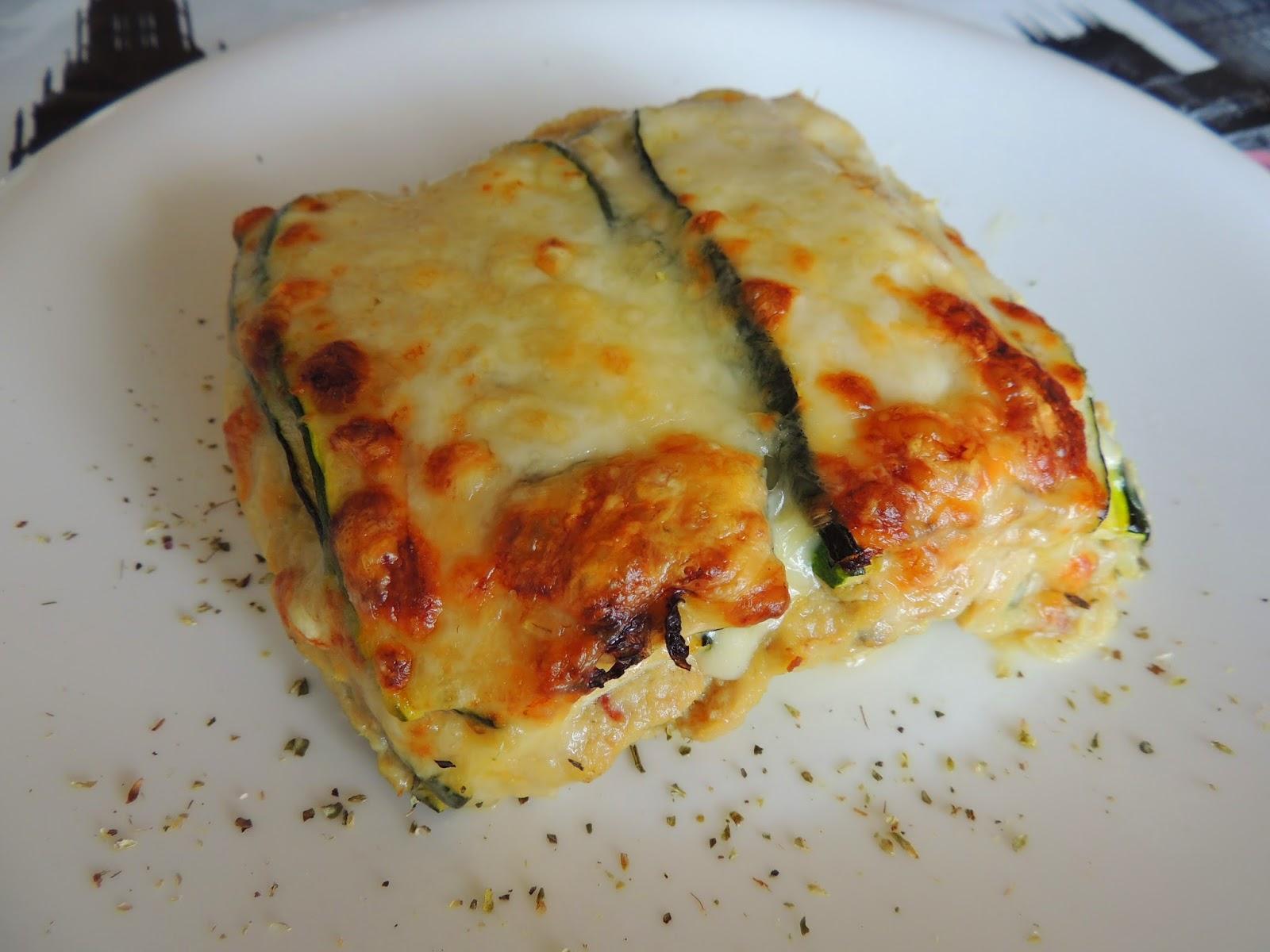 Lasa A De Calabac N Y Pollo Sin Pasta Recetas Sanas Cocina  ~ Recetas Faciles Y Bajas En Calorias