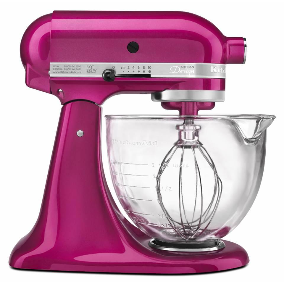 Kitchenaid kjøkkenmaskin rosa