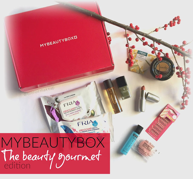 MYBEAUTYBOX DI NOVEMBRE : the beauty gourmet edition, ellenoirmakeup