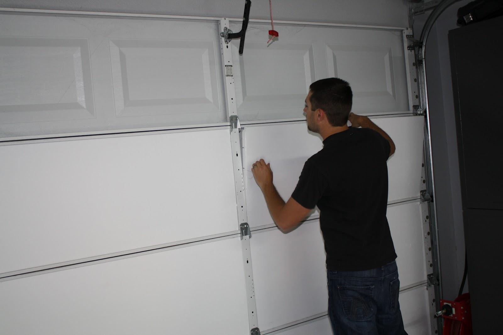 Garage Door Insulation Kit For  Car Garage Door
