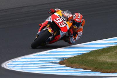 Hasil Lengkap Latihan Bebas 2 MotoGP Philip Island, Australia 2015