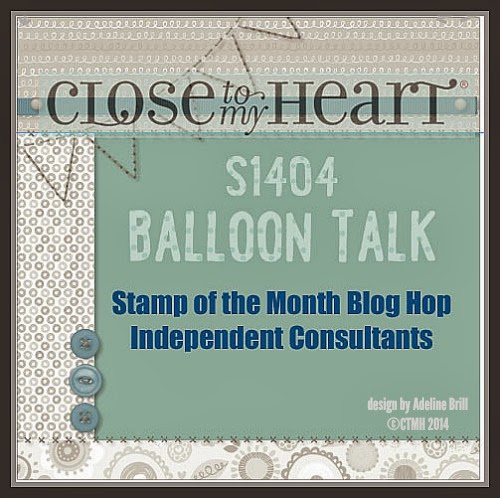 April Stamp of the Month Blog Hop