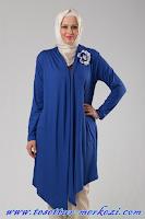 Melisita Büyük Beden Tesettür Elbise ve Tunik Modelleri