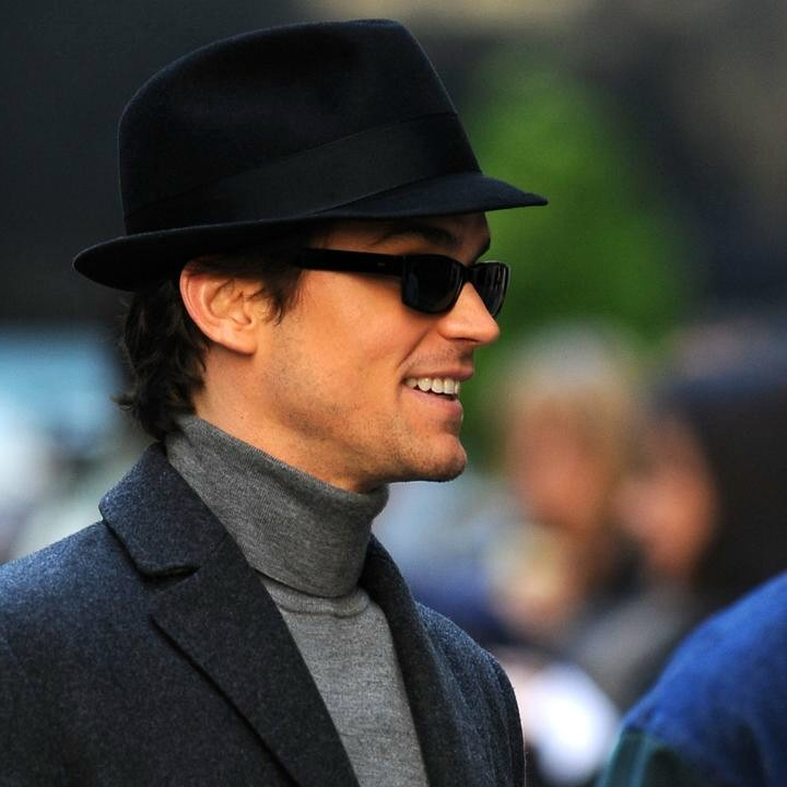 lucas wolf neal caffrey cool cat in the hat
