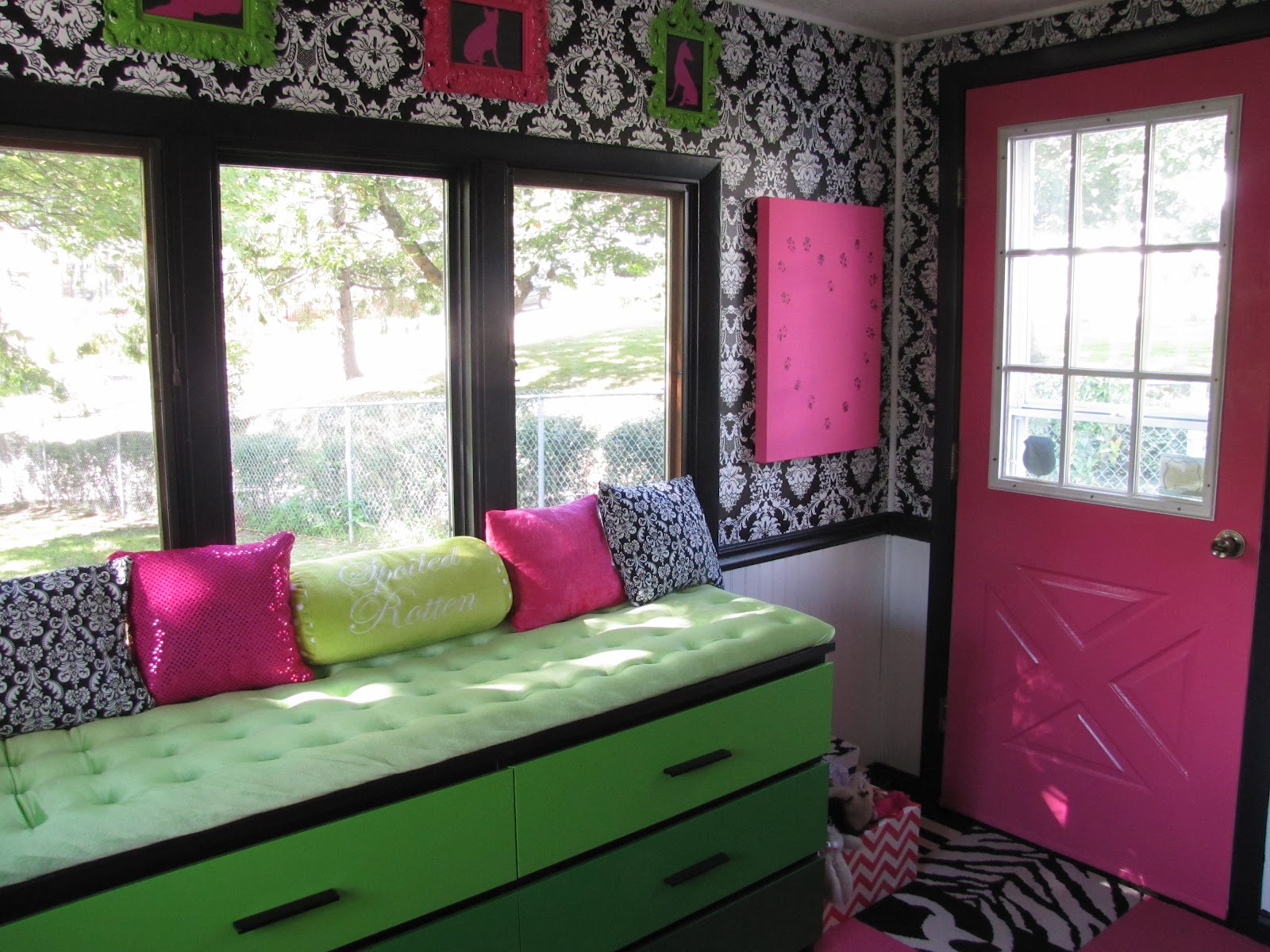 If It s Not Baroque Modern Baroque Mudroom Dog s Room Reveal