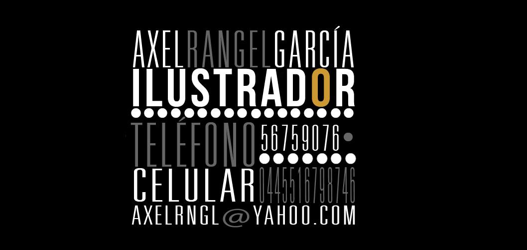 AXEL RANGEL GARCÍA/ ILUSTRADOR