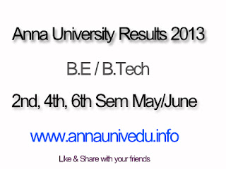 anna university results 2013,anna univ result,4th sem result,2nd sem result,6th sem result,anna univ result 2013