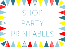 SHOP PARTY PRINTABLES
