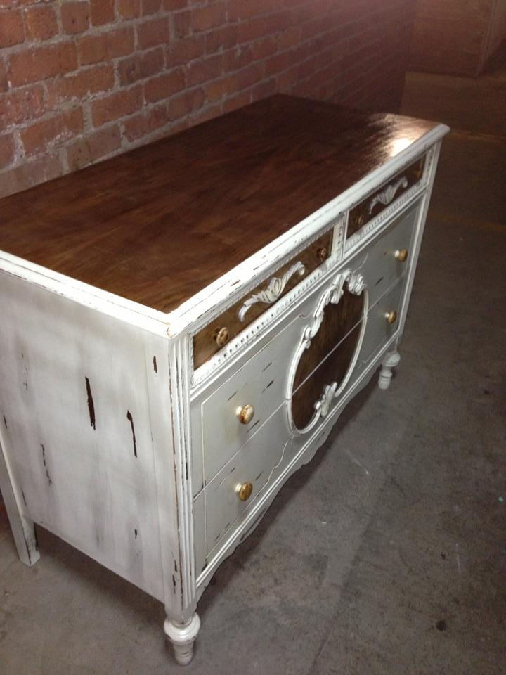Antique Shabby Chic Dresser Dezignature401
