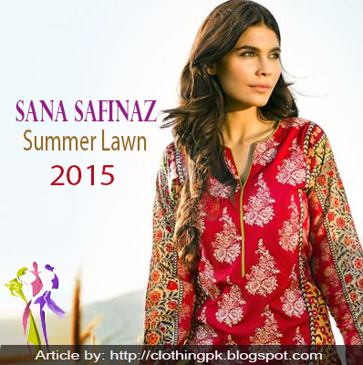 Sana Safinaz stylish Summer Lawn Collection 2015 for Girls