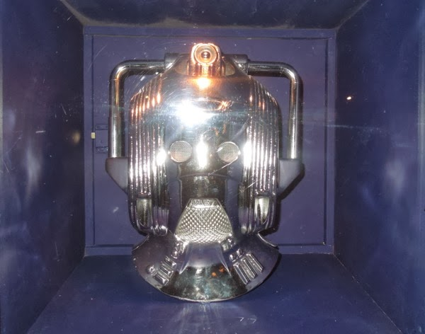 1988 Cyberman Doctor Who Silver Nemesis