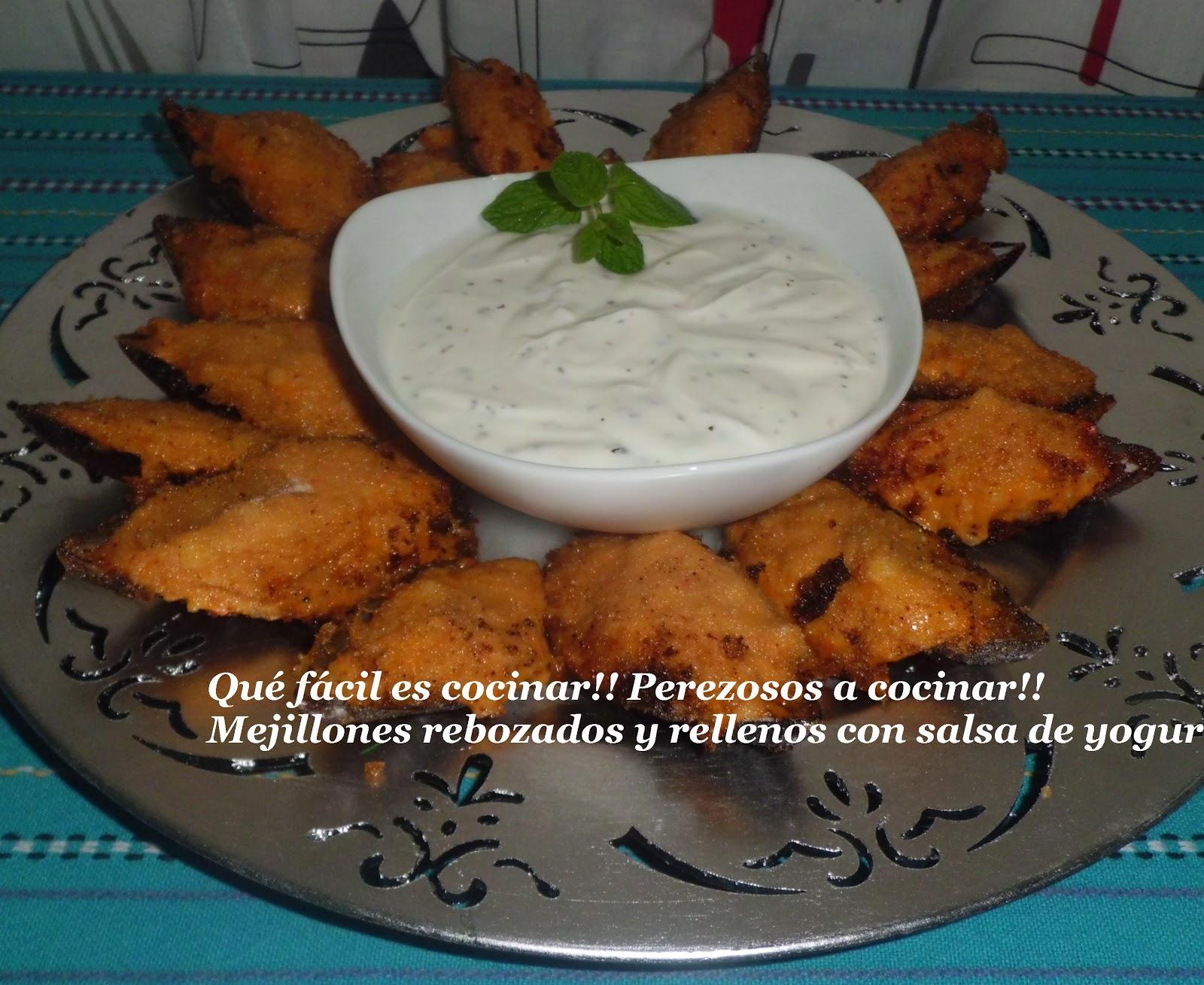 Perezosos a cocinar mejillones rebozados y rellenos for Cocinar mejillones en salsa