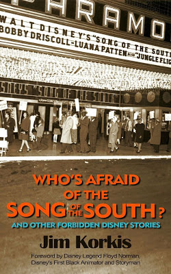 Book cover showing protesters striking a theater playing Song of the South