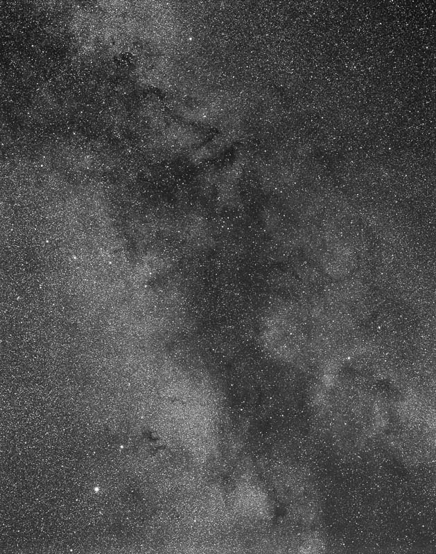 Milky Way Clouds on Acros by S Migol