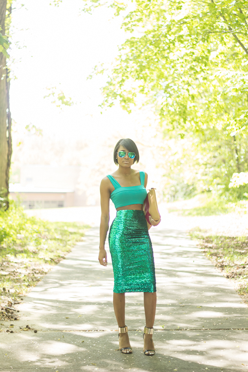 The Daileigh: Spring Sequins