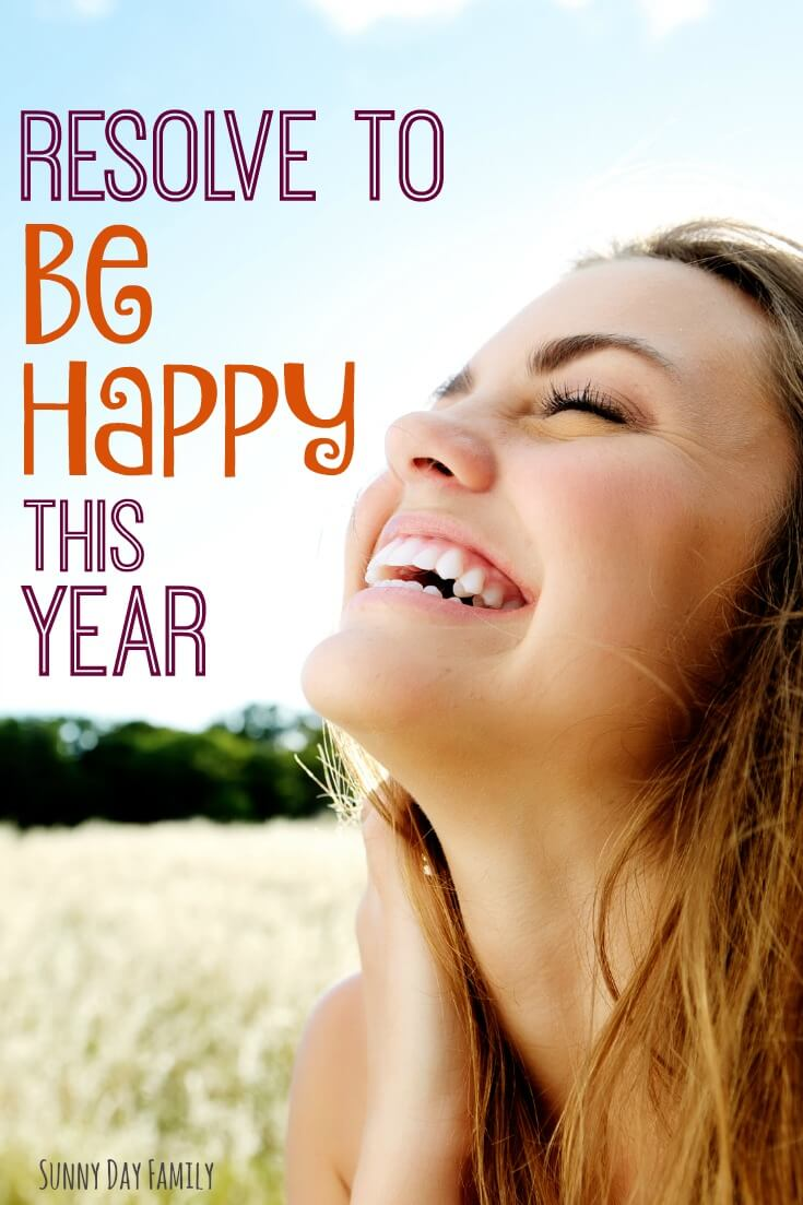 Resolve to Be Happy this year! If you want to embrace joy and be happier in the new year, make a resolution to keep a happiness journal - find out how here!
