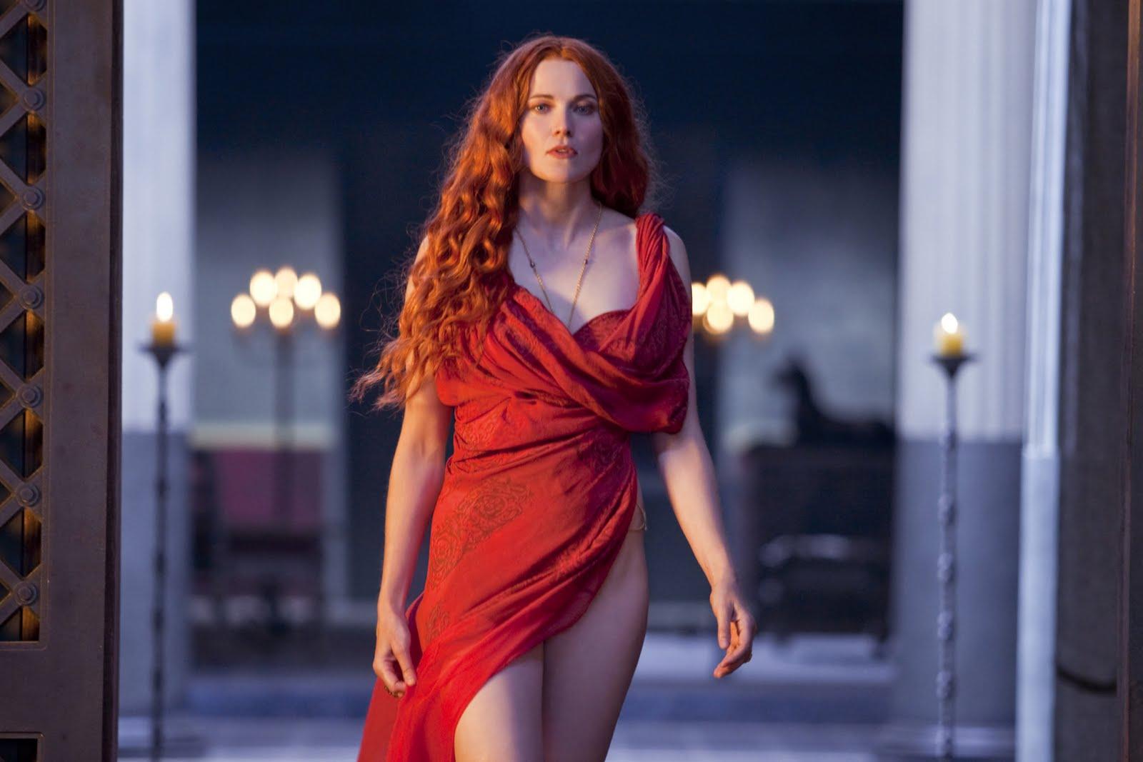 Spartacus Episodio Lucy Lawless Lucretia
