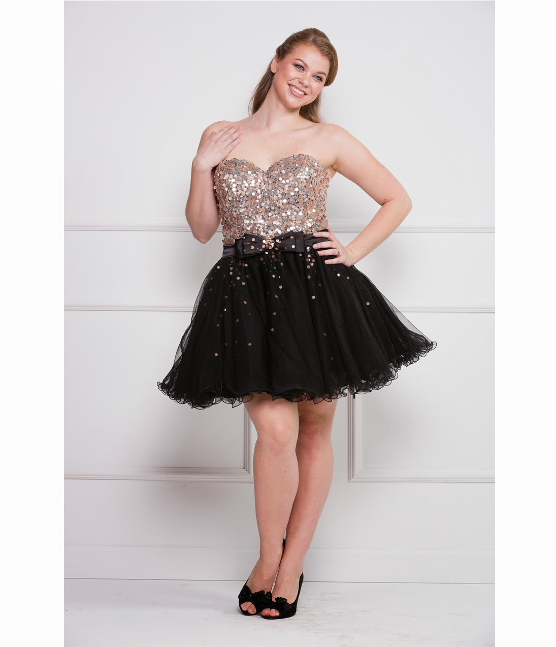 delight short plus size prom dresses gowns 2014 prom