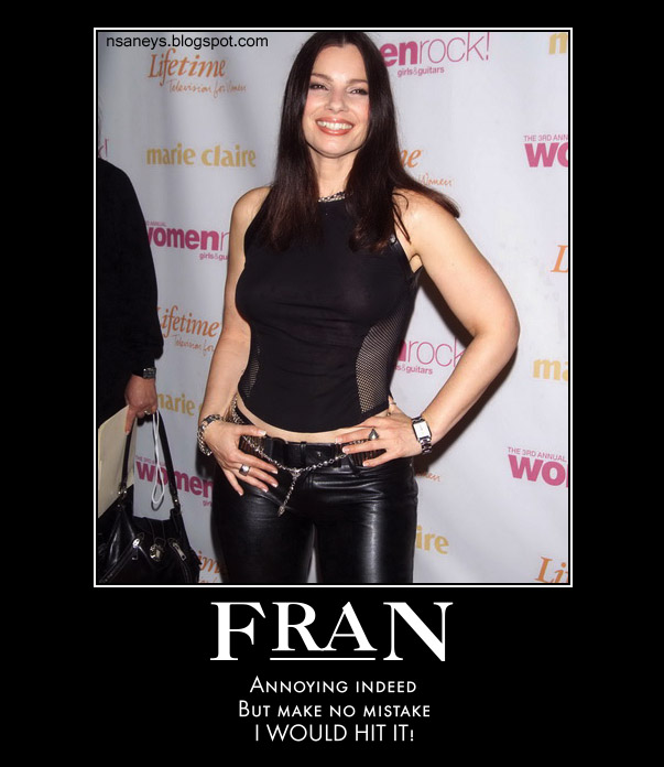 fran drescher in tight pants
