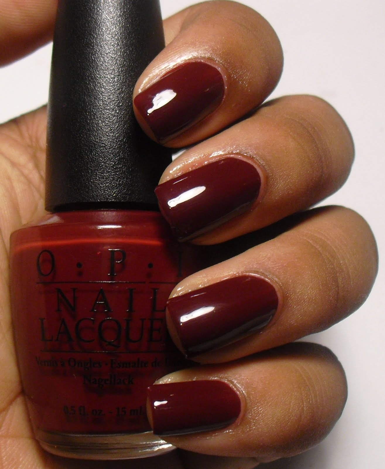 Deep Wine Nail Polish: Addicted To Polish: OPI Vampire State Building