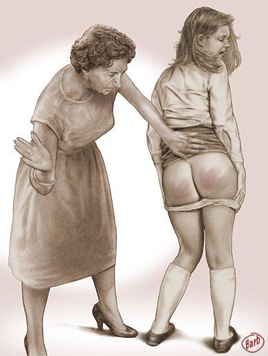 spanking toole Barbara o art barb